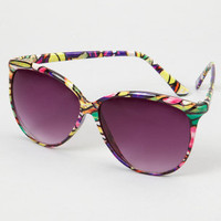 FredFlare.com - A.J. Morgan Cathedral Sunglasses - Breanne