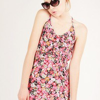 FLORAL PRINT CAMI DRESS-Casual Dresses-casual dresses for juniors,casual dresses,comfort dress,casual elegant dress,designer dresses