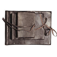 eco kubu leather photo album by nkuku | notonthehighstreet.com