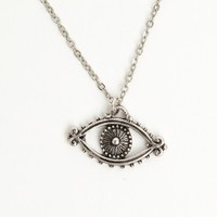 SINGLE EYE CHARM NECKLACE