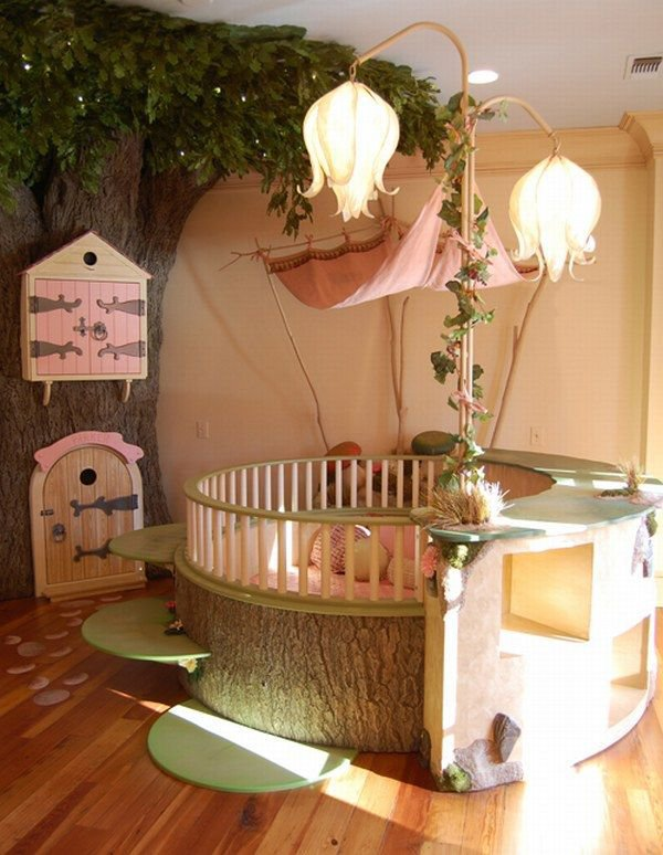 Fairy Bedroom: Amazing Room Design For Kids