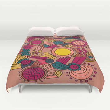 The Earthly Environment Duvet Cover by DuckyB (Brandi)