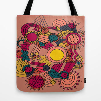 The Earthly Environment Tote Bag by DuckyB (Brandi)