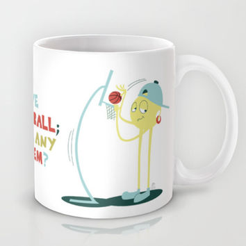 I Love Basketball Mug by Mr. Opus