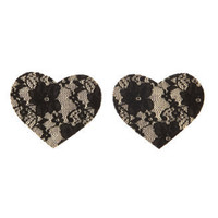 Charlotte Russe - Reusable Lace Heart Petals
