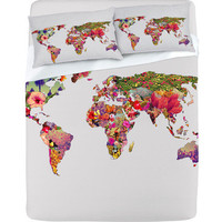 DENY Designs Home Accessories | Bianca Green Its Your World Sheet Set
