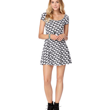 Kitties Skater Dress
