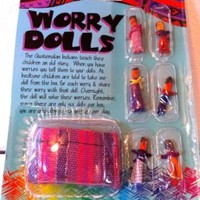 Guatemalan Worry Dolls