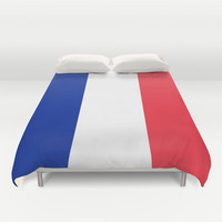 The National Flag of France - Authentic Version Duvet Cover by LonestarDesigns2020 - Flags Designs +
