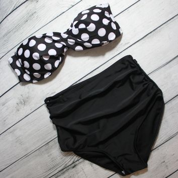GNO high waisted bikini from paper hearts