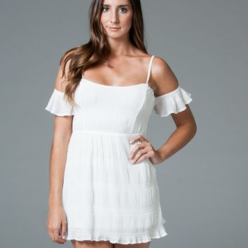 "Off the Shoulder ""Virgo"" Dress"