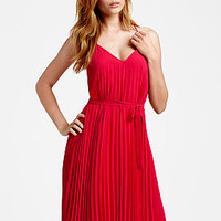 Knife-pleat Mini Dress - Victoria's Secret