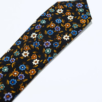 NARROW PRINTED TIE