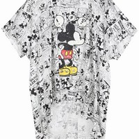 Cartoon High-low Tee