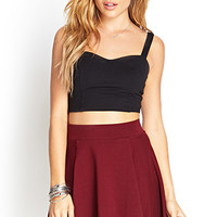 Cotton Jersey Skater Skirt