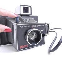 Polaroid Land Camera Square Shooter  Vintage by MaejeanVINTAGE