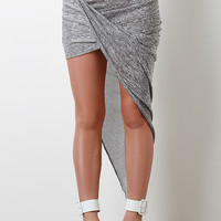 Asymmetrical Drape Skirt