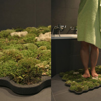 Moss carpet for your bathroom | Veerle&#x27;s blog 3.0