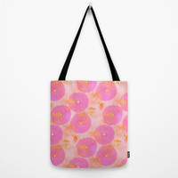 JUICY FUCHSIA Tote Bag by Je Suis un Lapin | Society6