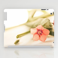 Origanum Flower, macro photography iPad Case by Light Wanderer