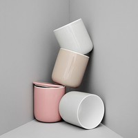 MONOQI | 2 Thermo Cups + Lids - White