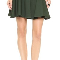 Jonathan Simkhai Circle Wave Skirt