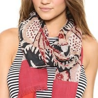 Tory Burch Birds Of Paradise Scarf