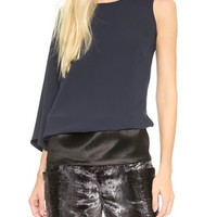 MM6 Maison Martin Margiela One Shoulder Banded Top
