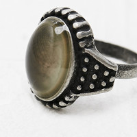 Mood Ring in Tarnished Silver - Urban Outfitters