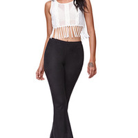 Kendall & Kylie High Rise Soft Flare Pants at PacSun.com