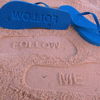 Sand Imprint FOLLOW ME Flip Flops