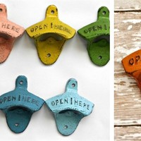 Shabby Chic Wall Mount Bottle Openers