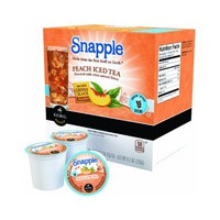Snapple Peach Iced Tea Keurig K-Cups, 16 Count