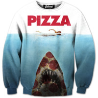 Pizza Shark Sweatshirt