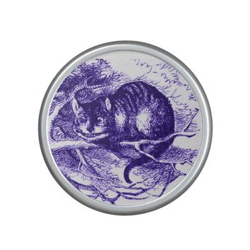 Alice in Wonderland Cheshire Cat Purple Bluetooth