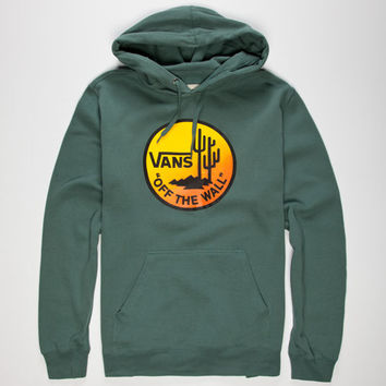 Vans Desert Days Mens Hoodie Green  In Sizes