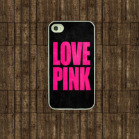 iphone 4 case  Love Pink  Iphone case Iphone 4s case by TitanCases