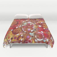 Inner Workings Duvet Cover by gretzky