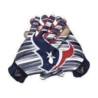 Nike Stadium NFL Houston Texans Men's Gloves - White