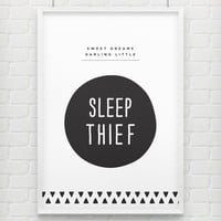 'Sleep Thief' Childrens Poster Print
