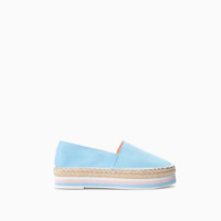 STRIPED PLATFORM ESPADRILLE