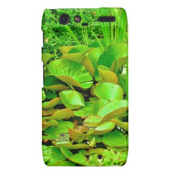 Pond, the color of green-Motorola Droid Razr Case