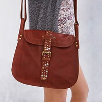 Ecote Maria Leather Messenger Bag - Urban Outfitters