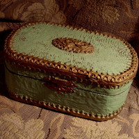 ROMANTIC OLD Victorian BOX for Love Letters by FineVintageGoods