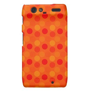 Seeing Dots Orange