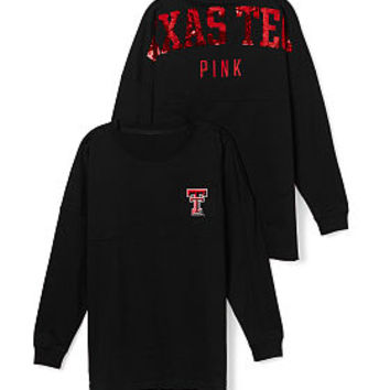 Texas Tech Bling Varsity Crew - PINK - Victoria's Secret