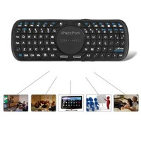 iPazzPort® Portable Multi-touch Mini Wireless Keyboard with touchpad RF2.4GHz for Windows Linux Android Google Smart TV Mac OS