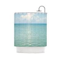 Beachy Shower Curtain