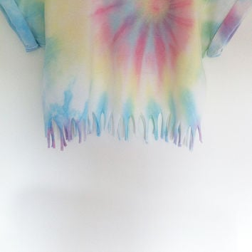 Pastel Whirl Crop (Ready For Dispatch)