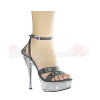 Simple Fashionalbe Round Toe Platform Party Sandals [TQL120323017] - £53.59 :